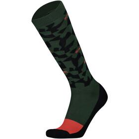 Mons Royale Lift Access Socks Herre Pine Camo